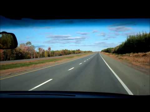 Sackville New Brunswick to Cobequid Pass toll Nova Scotia