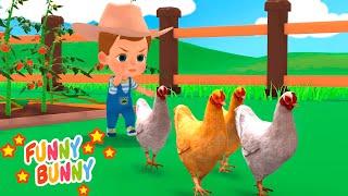 Old MacDonald Had A Farm song   Nursery Rhymes   Funny Bunny