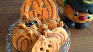 Halloween Cookies Jack O'  Lantern