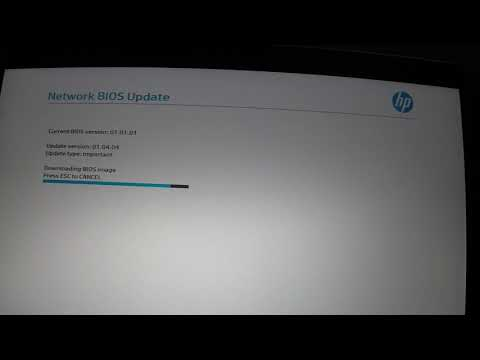 HP Client Management X360 1030 G3 start a remote BIOS Update