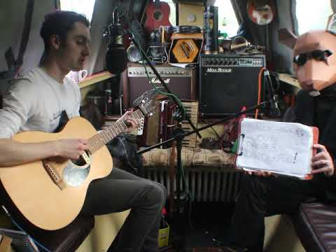 The Narrowboat Sessions 2019. Paddy Clarke & The Fancy Rats  'A Song For Sally Hawkins'