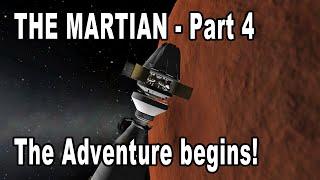 The Martian in Kerbal Space Program - The Adventure begins!