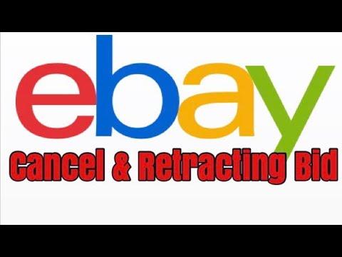 Cancel Retracting Bid On Ebay Youtube