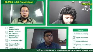 IBA MBA & Job Preparation