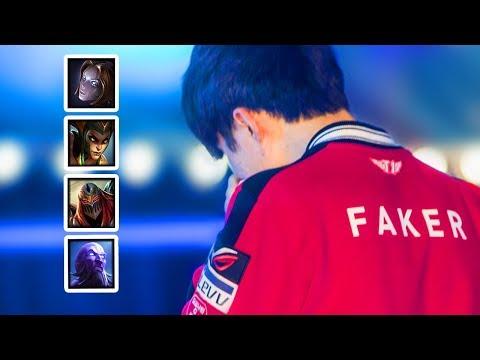 Everything FAKER did at WORLDS 2017 (HE CRIED !) | SKT FAKER HIGHLIGHTS | #LeagueOfLegends