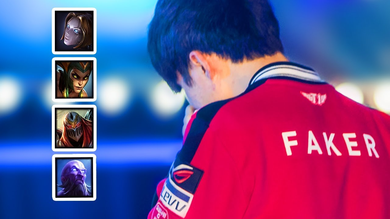 Everything FAKER did at WORLDS 2017 (HE CRIED !) | SKT FAKER HIGHLIGHTS | #LeagueOfLegends