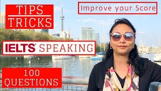 IELTS Speaking -  Tips & Tricks | 100 Questions thumbnail