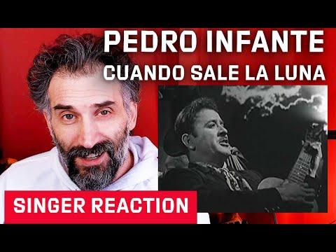 Pedro Infante - Cuando Sale La Luna Reaction