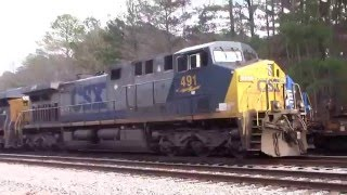 NS 4000 and 4001 the NEW AC44C6M's lead the NS V07