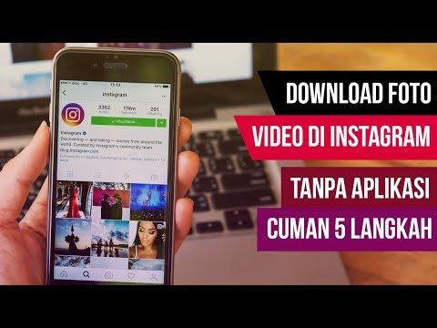 TERBARU ! DOWNLOAD FOTO VIDEO INSTAGRAM TANPA APLIKASI