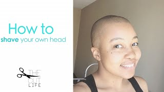 How to Shave your own head bal