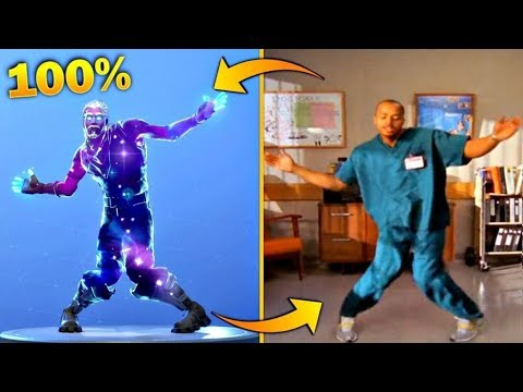 Download ALL *LEGENDARY* FORTNITE DANCES VS REAL LIFE..[SMOOTH MOVES, ORANGE JUSTICE, ELECTRO SWING]