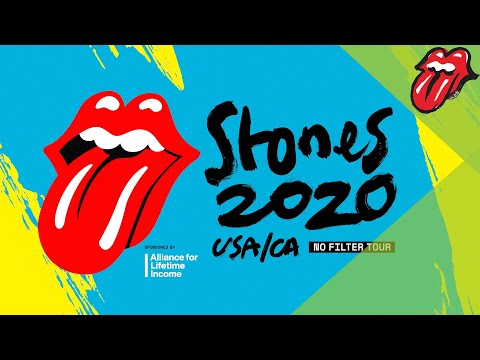 The Rolling Stones - No Filter 2020 USA/CA Tour Announcement