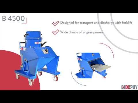 DU-PUY Industrial Vacuum Cleaners at MECSPE Parma 2018