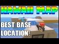 Hawaii Map - BEST Base Location! | Unturned Hawaii Update