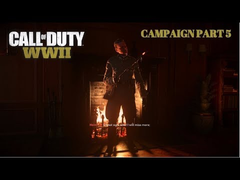 Call of Duty WW2 Campaign Part 5