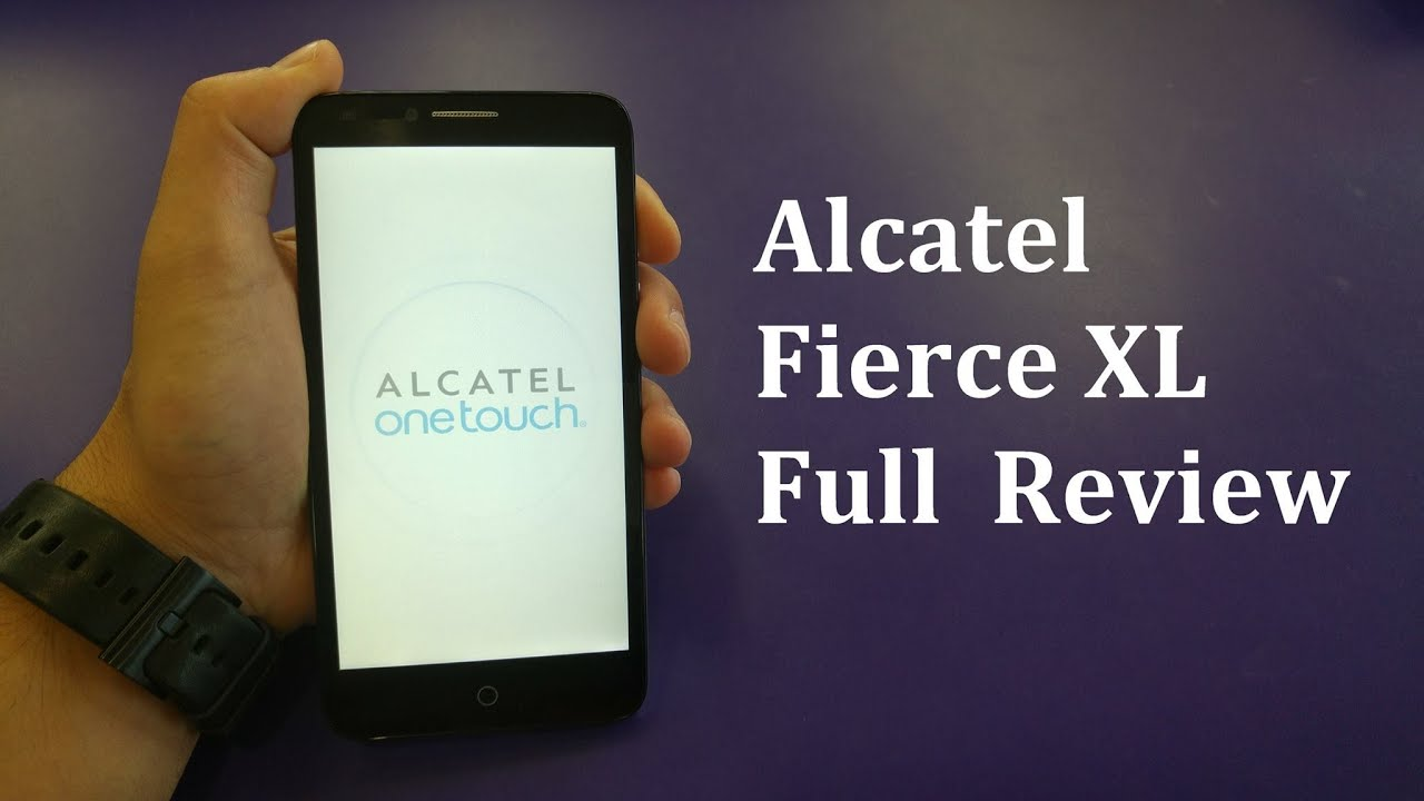 Alcatel Fierce XL Full review For Metro Pcs\T-mobile