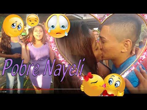 😭Pobre Nayeli😥 esto le dolió mas a ella que a Nano. Besos y cachetadas!. El Salvador Play. Parte 3