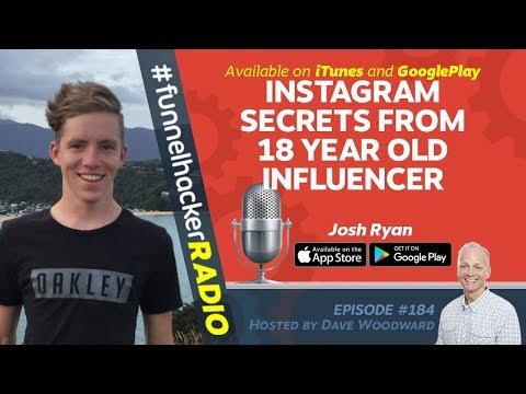 Instagram Secrets With An 18 Year Old Influencer - Josh Ryan - FHR #184