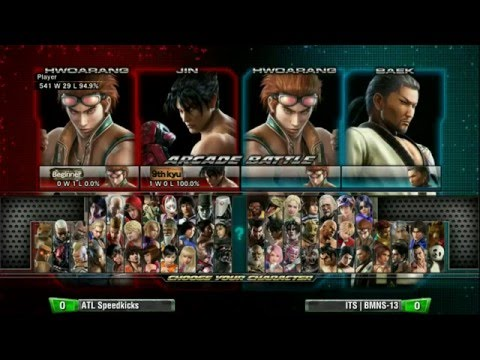 Tekken Tag Tournament 2: Final Round 19 - ATL Speedkicks Vs ITS BMNS-13