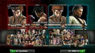 Tekken Tag Tournament 2: Final Round 19 - ATL Speedkicks vs ITS BMNS-13