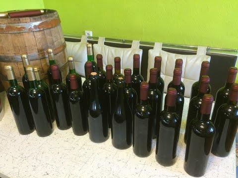 Вино из винограда по красной схеме в домашних условиях. Инструкция. Часть 2