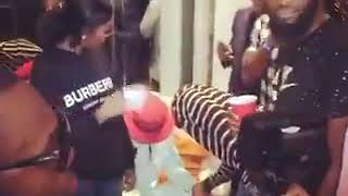 Tiwa Savage and Wizkid spotted together at Patoranking's Wilmer Album listening party