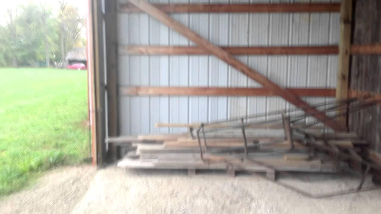 How To Make A Footing Pole Barn Or Hangar Youtube
