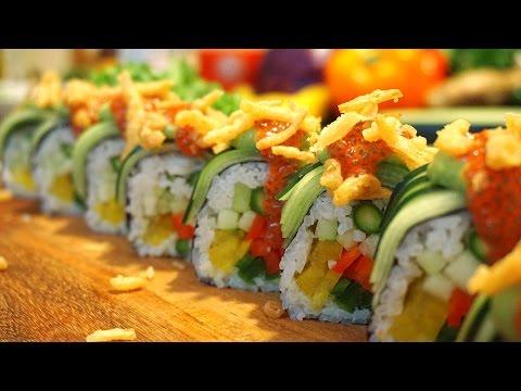 How to make Vegan Gourmet Sushi Roll