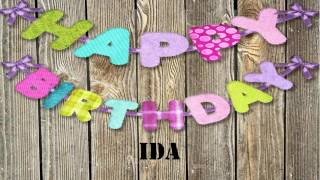 Ida   Birthday Wishes