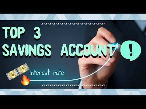 My Top 3 Savings Account To Put Your Money In 2019! (High APY)
