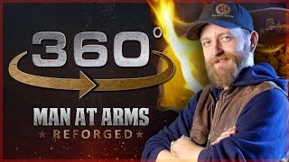 Man At Arms: Reforged Answers Your Questions Part 1 – in 360° !