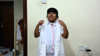 Doctor speech for fancy dress competition
