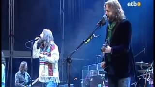 The Black Crowes - Twice as Hard (Spain 2009)