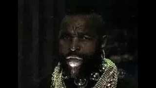 Mr. T cracks up during Year 2000 on Conan