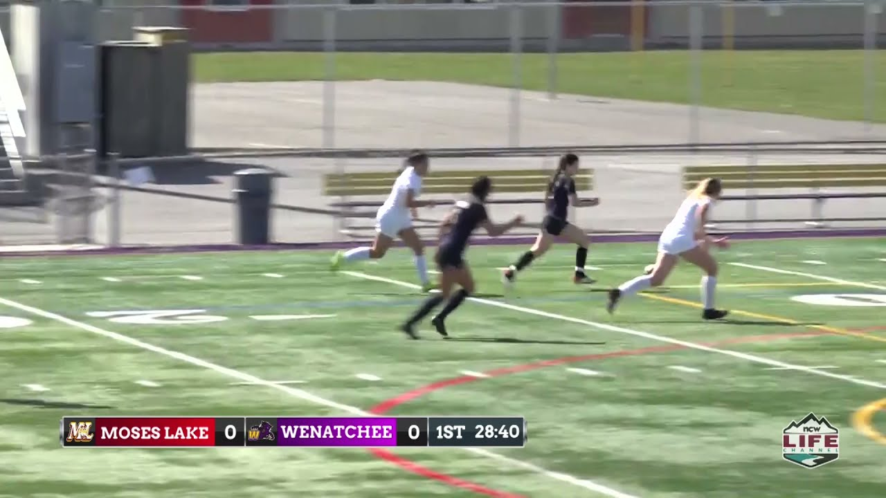 Wenatchee vs Moses Lake Soccer Highlights 2021-03-29