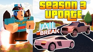 NEW SEASON 3 JETPACK UPDATE IN JAILBREAK! *FULL REVIEW* (Roblox)