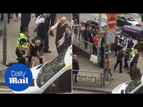 Man Brandishes A Machete Outside Justin Bieber's Gig In Cardiff - Daily Mail