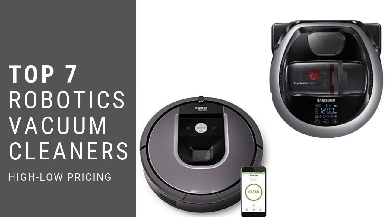 Best Home Robots 2020.Best Robotic Vacuum 2020
