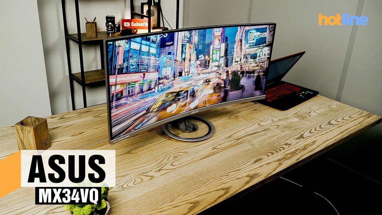 ASUS MX34VQ — обзор монитора