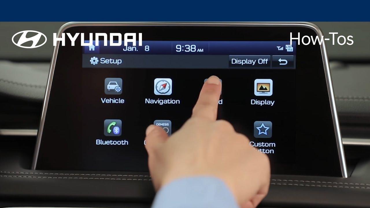 How to Adjust the Sound and Volume Settings | 2018 Hyundai | Hyundai