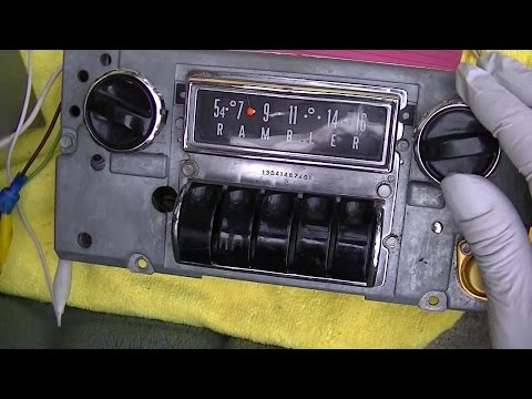 AMC Rambler 1963 AM Car Radio Repair 3TMR