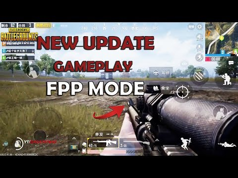 New Update Gameplay FPP MODE ! | PUBG Mobile L&Q | Full Game | AWSOME SQUAD TEAM - TOP 1