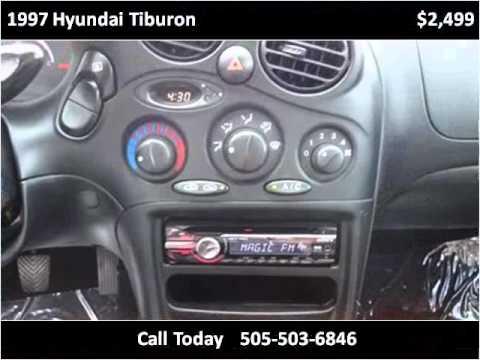 1997 Hyundai Tiburon Used Cars Albuquerque Nm Youtube