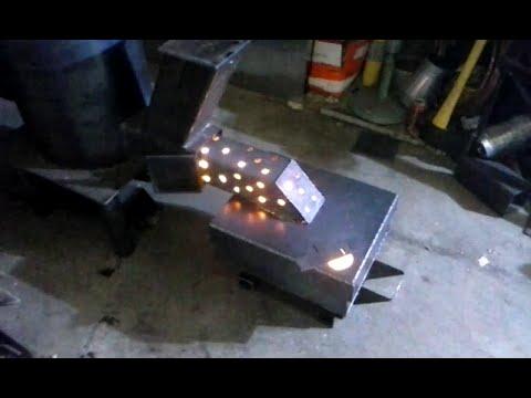 Waste oil burner for my rocket stove
