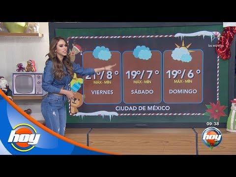 Pronóstico del clima para este fin de semana | Aclimátate con Yanet García | Hoy