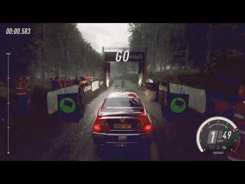 Game play - DiRT Rally 2.0 (Mitsubisi EVO 6 Rally Germany)  