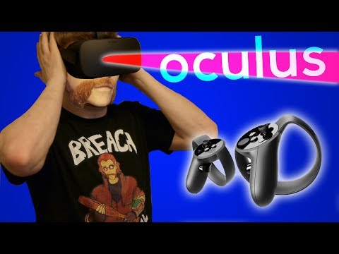 Oculus Rift and Touch Unboxing! - Face Warning!
