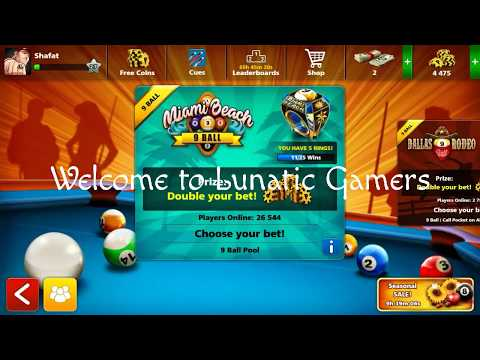 8ball pool fastest match lvl 27 vs lvl 61 - Lunatic Gamers