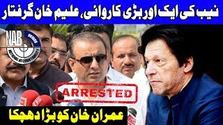 NAB arrests PTI's Aleem Khan in offshore company case | 6 February 2019 | Dunya news
